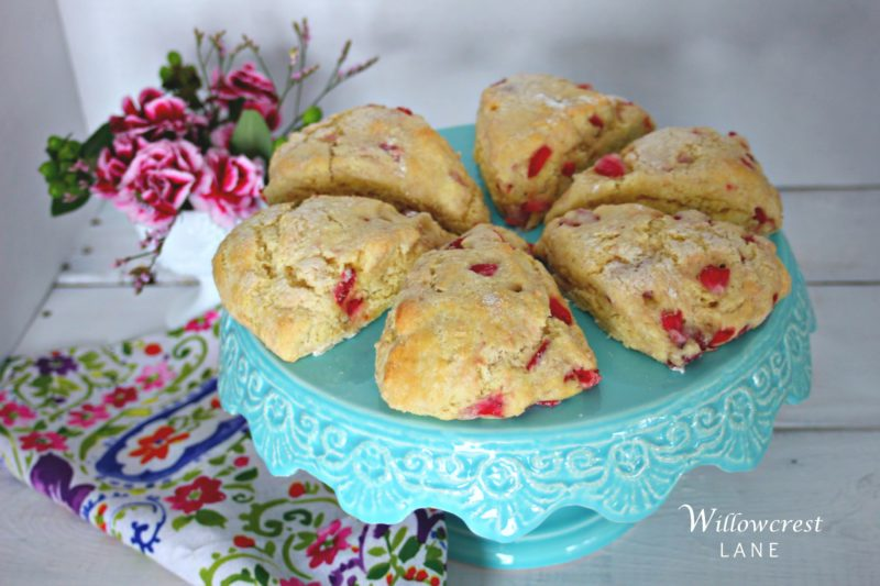 willowcrest lane strawberry scones