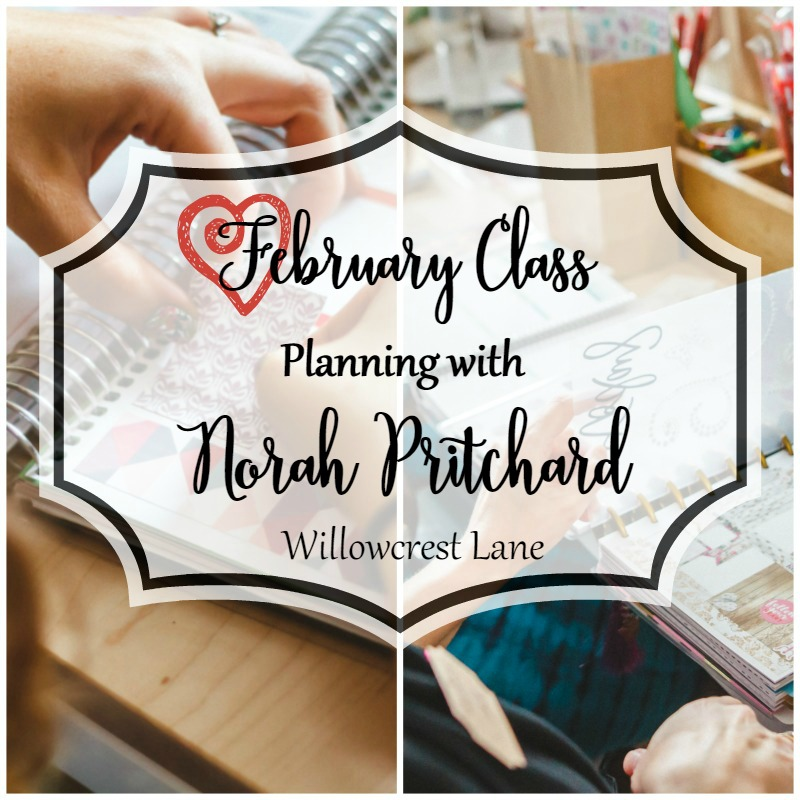 Planning with Norah Pritchard