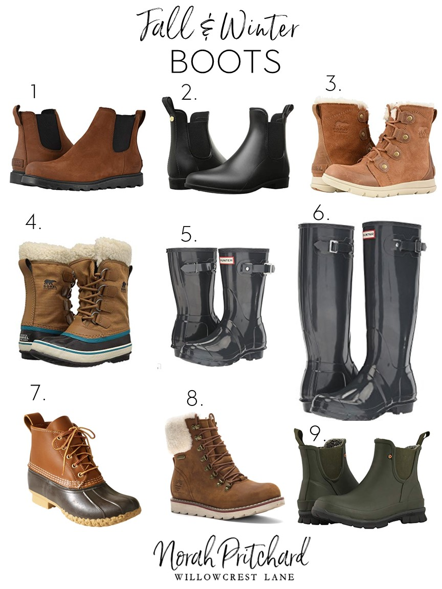 Fall and Winter Boots that Actually